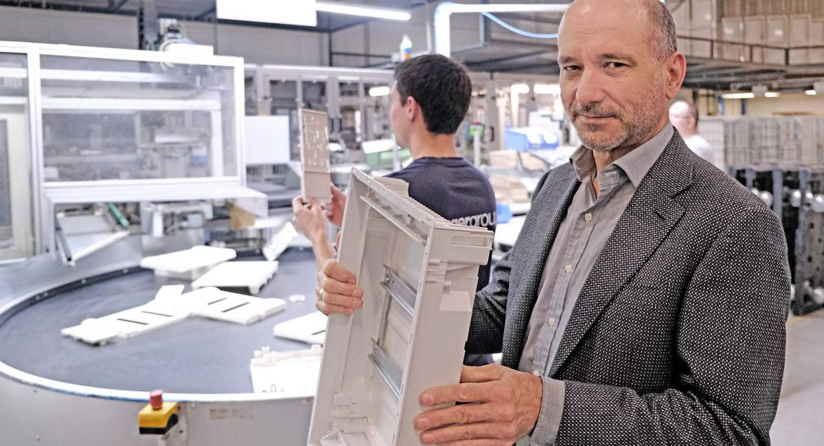 Ralf Swoboda in der Produktion