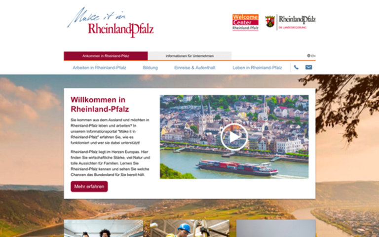 Informationsportal Make it in Rheinland-Pfalz