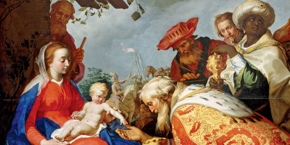 Abraham Bloemaert The adoration of the Magi ©Google Art Project